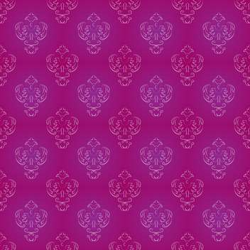 Vector vintage background with art floral pattern - vector #127029 gratis