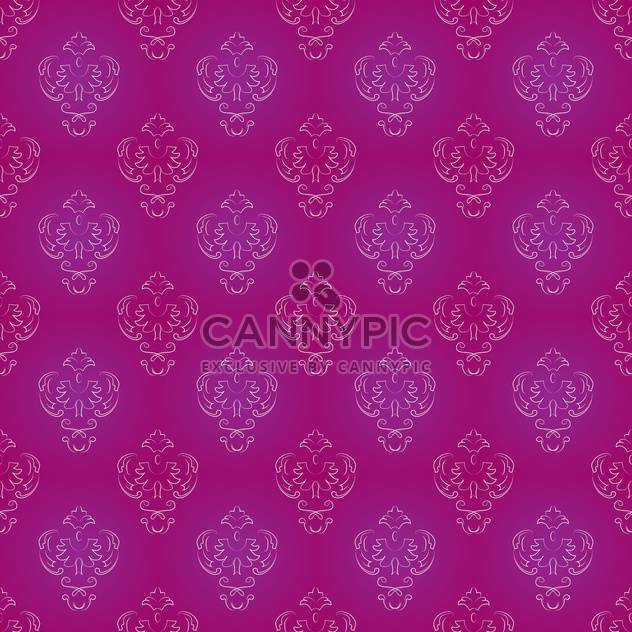 Vector vintage background with art floral pattern - Free vector #127029
