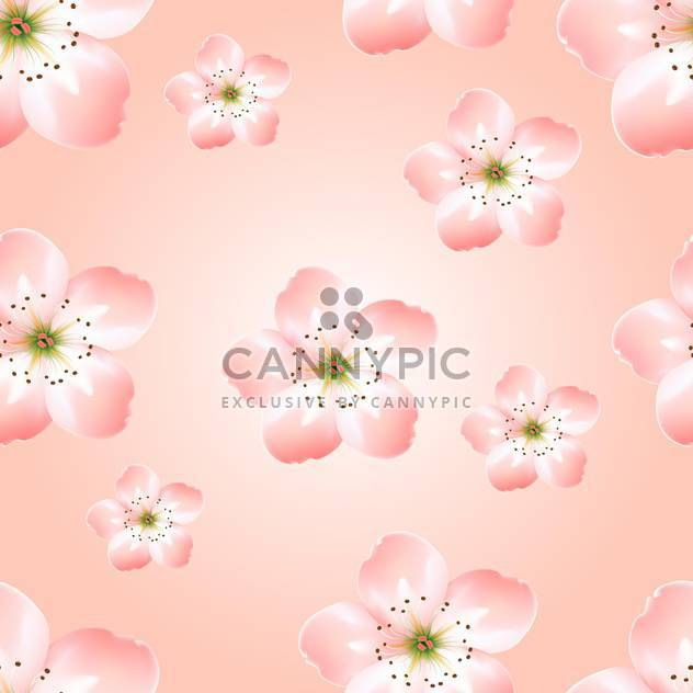 Spring background with beautiful spring flowers - Free vector #127119