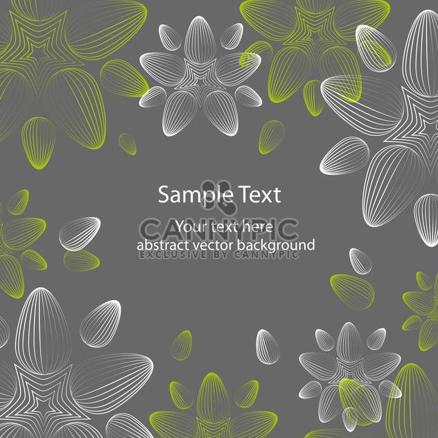 seamless floral background with beautiful flowers - Free vector #127559
