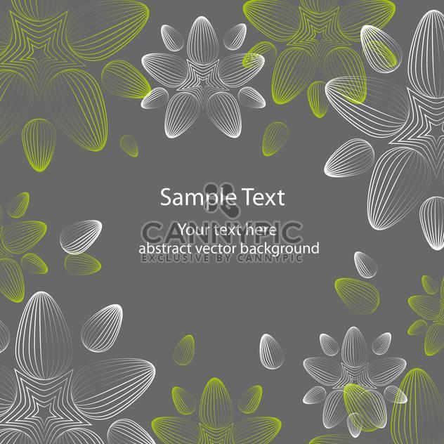 nahtlose floral Hintergrund mit schönen Blumen - Kostenloses vector #127559