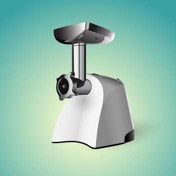 Meat grinder vector illustration - Free vector #128189
