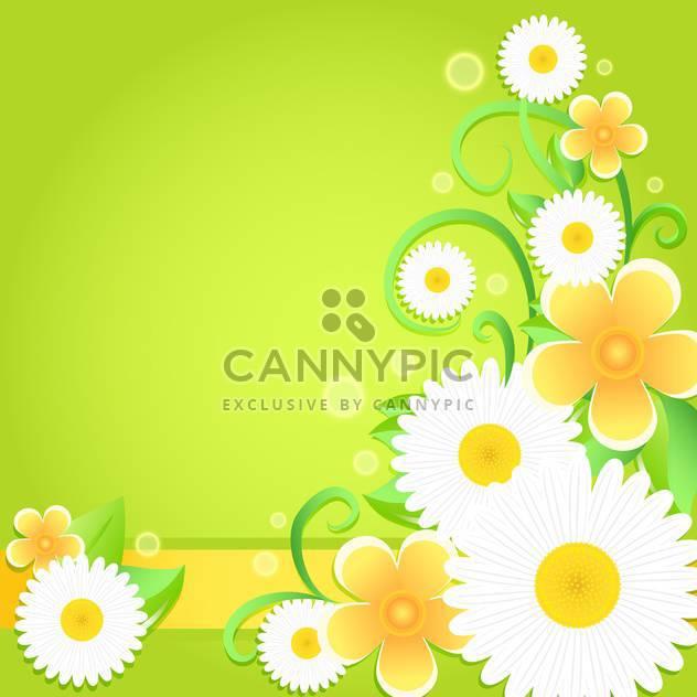 Frühling Blumen Hintergrund mit Platz für text - Kostenloses vector #130049