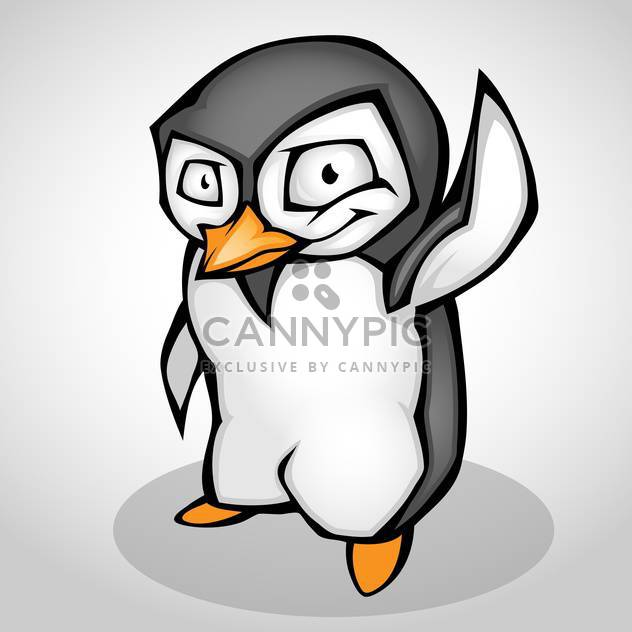 Vektor-Illustration Karikatur Pinguins isoliert - Kostenloses vector #130169