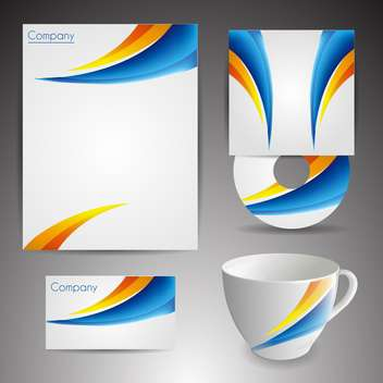 Selected corporate templates, vector Illustration - бесплатный vector #132429