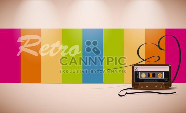 Retro-Medien-Vektor-illustration - Free vector #133079