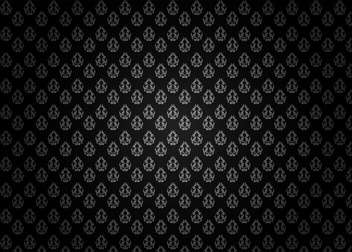 Seamless damask pattern background - vector gratuit(e) #133259