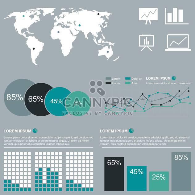 Geschäft Infographik Elemente - Kostenloses vector #133529