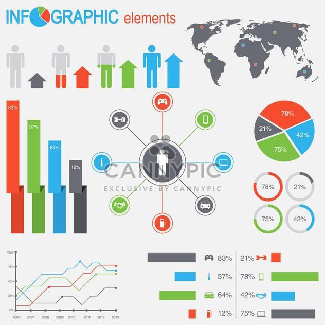 Geschäft Infographik Elemente - Free vector #133539