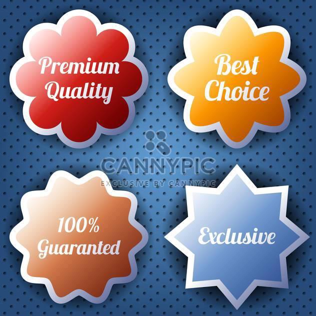hochwertige Labels-Auflistung - Kostenloses vector #133969