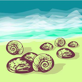 summer holiday vector background - Free vector #134099