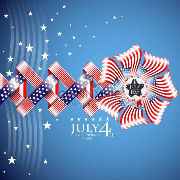 usa independence day illustration - Free vector #134149