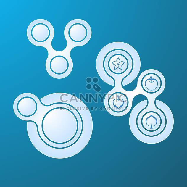 web buttons set background - Free vector #134249