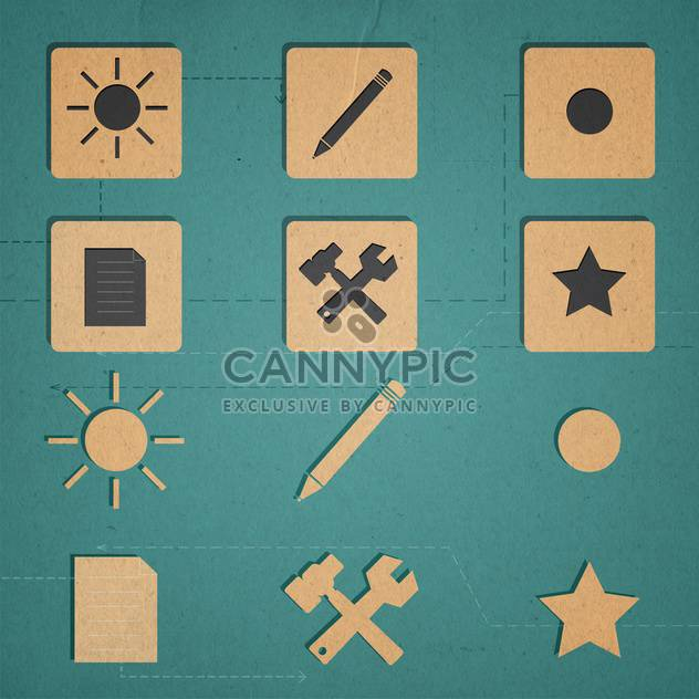 web icons set internet collection - Free vector #134309