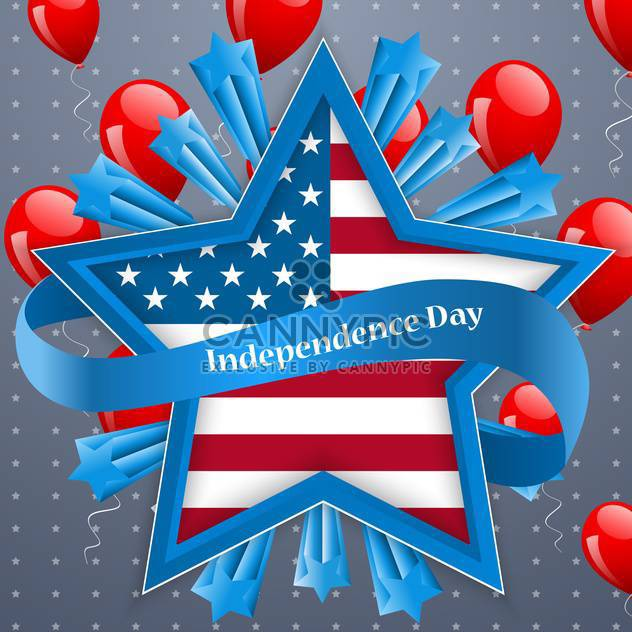 amerikanischen Unabhängigkeitstag-Hintergrund - Free vector #134459