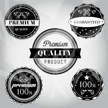 sale high quality labels and signs - vector #134489 gratis
