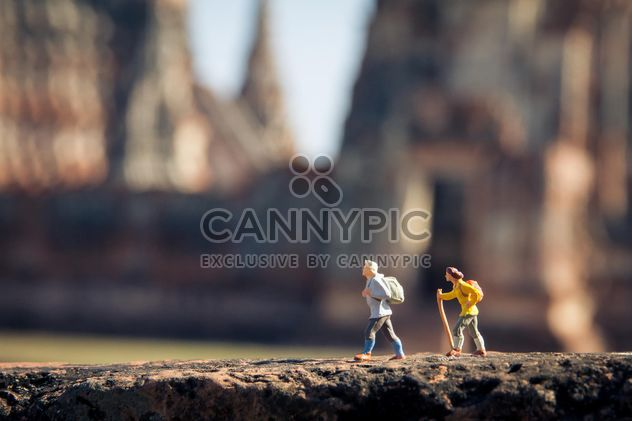 Toys climbing with backpacks - Free image #136379