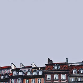 Roofs of buildings - Kostenloses image #136619