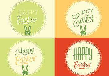 Free Vector Easter Backgrounds - Kostenloses vector #138689