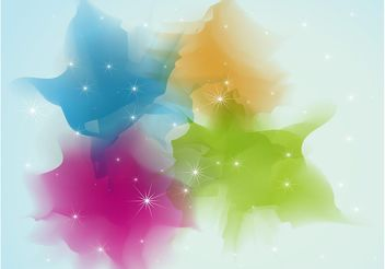 Color Sparkles Background Image - Free vector #138819