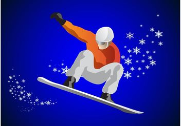 Snowboard Graphics - Free vector #138949