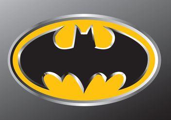 Batman Emblem - Kostenloses vector #139199