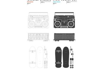 Official Classic Free Vector Set 1. - vector gratuit #139339
