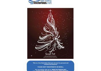Free christmas tree - Kostenloses vector #139529