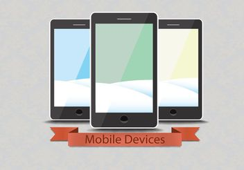 Free Vector Smart Phones - Kostenloses vector #140759