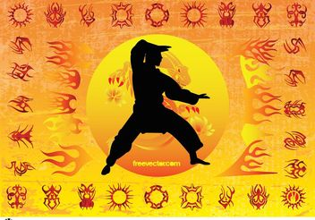 Karate Kid - Free vector #141459