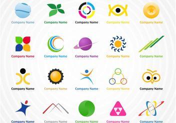 Creative Logo Pack - Free vector #142019