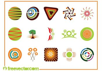 Logo Templates Pack - vector #142289 gratis