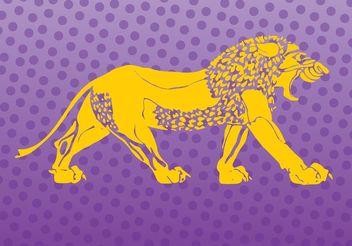 Lion Logo Vector - Free vector #142619