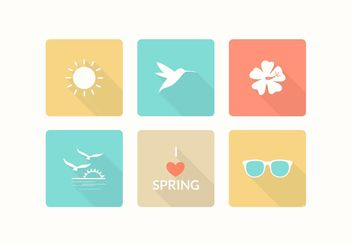 Free Spring Vector Icons - Free vector #142769