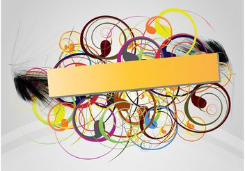 Cool Colorful Banner - Free vector #142899