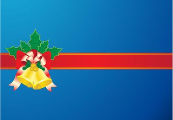 Christmas Ribbon - Free vector #142959
