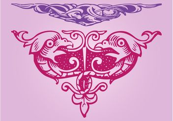 Ornaments Designs - vector #143009 gratis