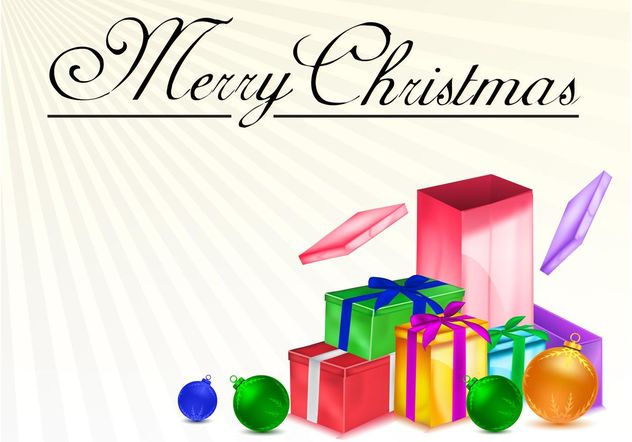 Christmas Presents Vector - vector #143019 gratis