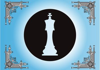 Antique Chess Layout - vector #143319 gratis