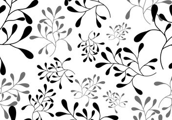 Vector Leaf Seamless Pattern - Free vector #143599