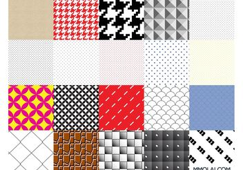 Vector Patterns Swatches - vector gratuit #143719