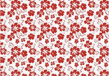 Floral Vector Pattern Art - vector #143959 gratis