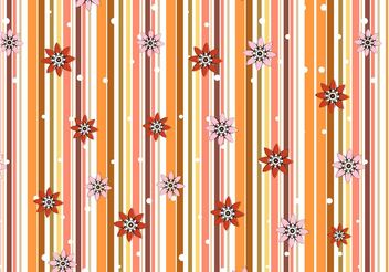 Floral Background Graphics - Free vector #144009