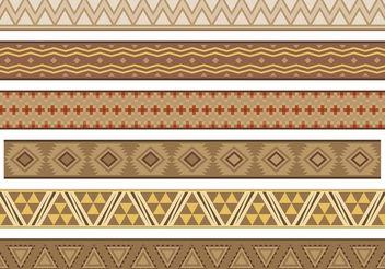 Native American Banner Vectors - Free vector #144129
