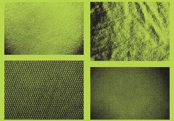 Grunge Fabric Vectors - Free vector #144159