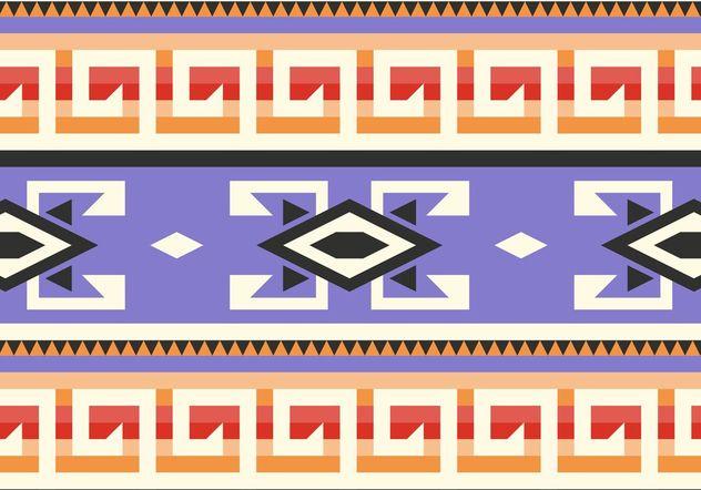 Purple Native American Pattern Vector - Kostenloses vector #144259