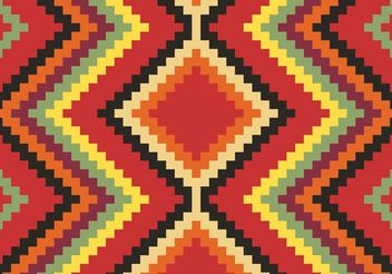 Native American Pattern Free Vector - Free vector #144269
