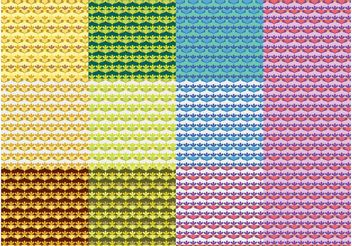 Colorful Patterns Vector - vector #144349 gratis