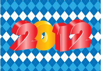 2012 Poster - Free vector #144359