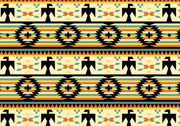 Native American Pattern Free Vector - Kostenloses vector #144439